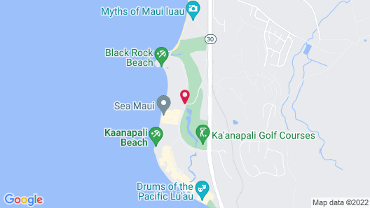 Aston at The Whaler on Kaanapali Beach Map