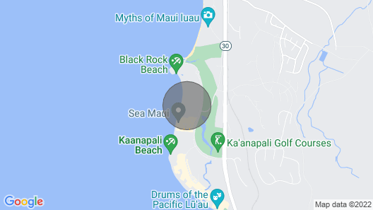The Whaler on Ka'anapali Beach  Available in 2020 and 2021 Map