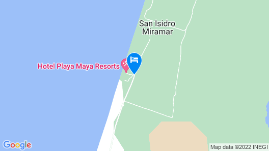 Playa Maya Resorts Map