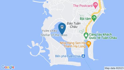 Indochina Sails Map