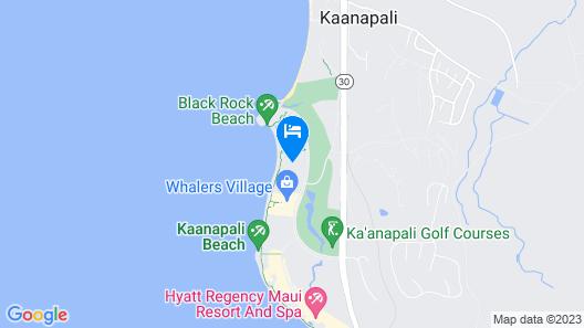 Kaanapali Beach Hotel Map