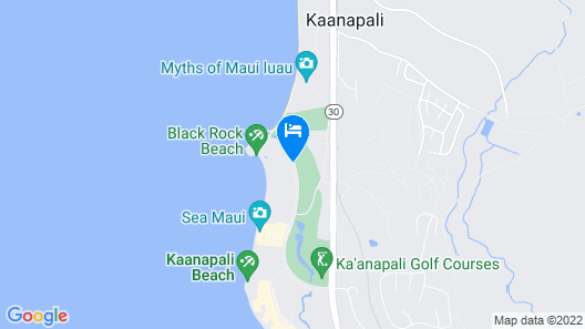 Sheraton Maui Resort & Spa Map