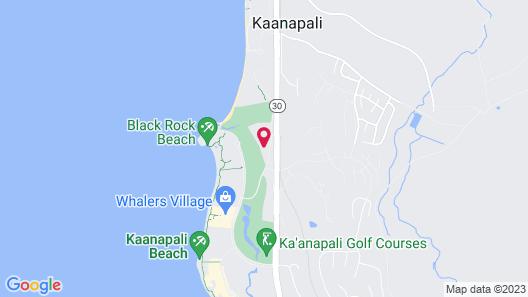 Maui Eldorado  G203 Studio Bedroom Condo Map