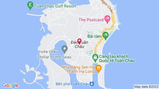 Halong Overnight In Cat Ba Island Map