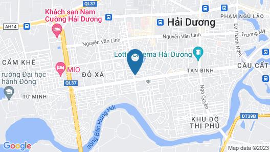 Chau A Hotel Map