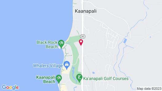 Kaanapali Maui at the Eldorado by Outrigger Map