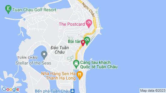 La Paz Resort Ha Long Map