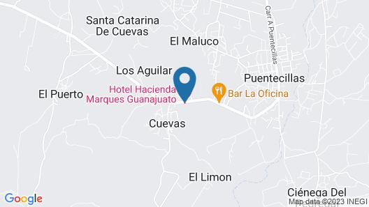 El Marques Hacienda Hotel Map
