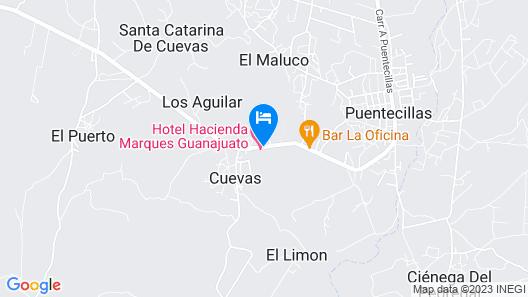 Ex-Hacienda Puentecillas Hotel-Spa Map