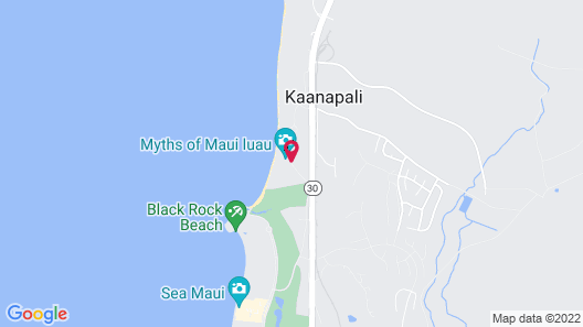 Royal Lahaina Resort Map
