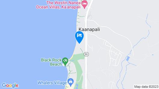 Kaanapali Ocean Inn Map