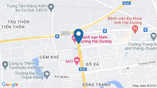 Nam Cuong Hai Duong Hotel Map