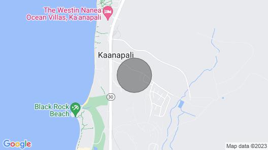 New Ka'anapali Deluxe Villa Ocean and Island view Map