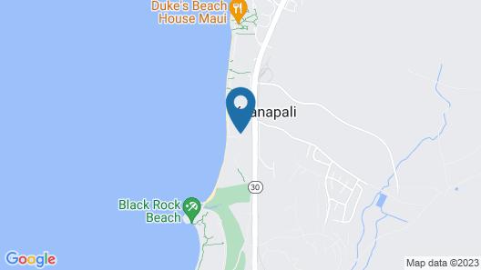 Aston Maui Kaanapali Villas Map