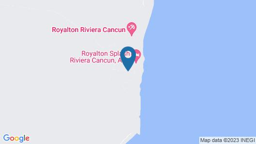 Dreams Natura Resort & Spa - All Inclusive Map