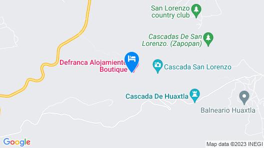 Defranca Alojamiento Boutique Map