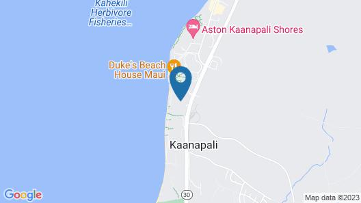 The Westin Nanea Ocean Villas, Ka'anapali Map