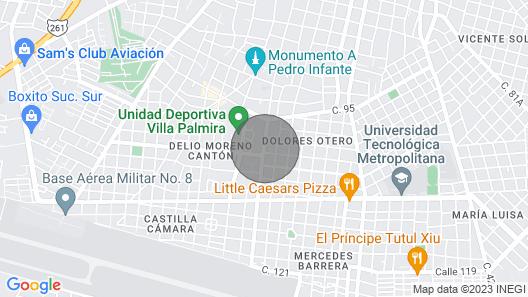 Casa Jaguar =wonderful Location + Budget Friendly! Map