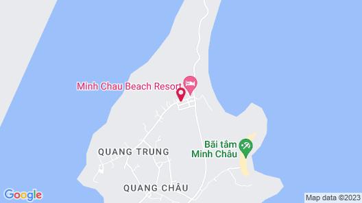 Minh Chau Pearl Hotel and Spa Map