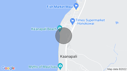 Maui Resort Rentals: Honua Kai Hokulani 510 - Spacious 5th Floor 2BR w/ Partial Ocean & Mountain Views Map