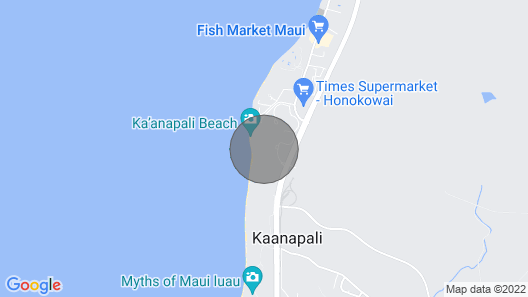 Maui Resort Rentals: Hokulani 505 – 5th Floor, Closest 2BR Column to the Beach, Superb Ocean Views! Map