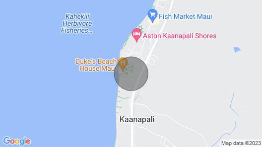 Maui Resort Rentals: Honua Kai Hokulani 332 -  1BR Suite w/ Charming West Maui Mountain Views Map