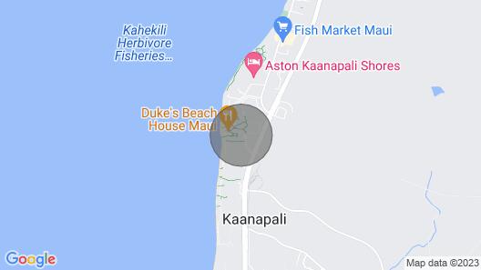 Maui Resort Rentals: Honua Kai Hokulani 533 – Upgraded 5th Floor Oceanview Studio Map