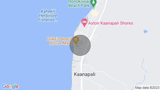 Maui Resort Rentals: Honua Kai Hokulani 342 - Extra Large One Bedroom Den, Partial Ocean and West Maui Mountain Views! Map
