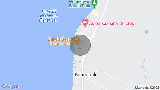 Maui Resort Rentals: Honua Kai Hokulani 246 - 2BR w/ Partial Ocean AND Lush West Maui Mountain Views! Map