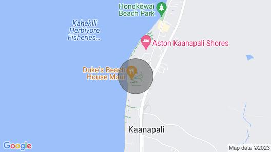 Maui Resort Rentals: Honua Kai Konea 401 Crown Jewel Oceanfront 2br, Sweeping Ocean Views w/ B.b.q on Balcony Map