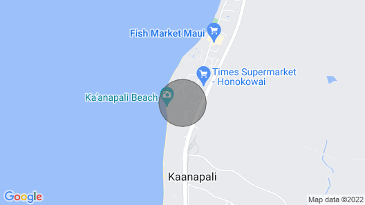 Maui Resort Rentals: Honua Kai Konea 712 - Rare 7th Floor 2br/1ba, Lush West Maui Mountain Views Map