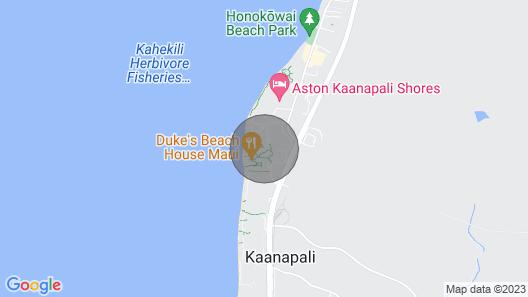 Maui Resort Rentals: Honua Kai Konea 309 Spacious Interior Courtyard 2BR w/ Partial Ocean Views Map