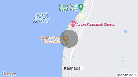 Maui Resort Rentals: Honua Kai Konea 831 - Stunning 8th Floor Ocean View Studio Map