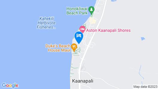 Honua Kai Resort & Spa Map
