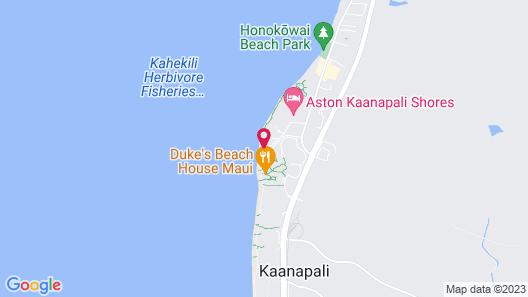AEI at The Mahana Kaanapali Resort Map