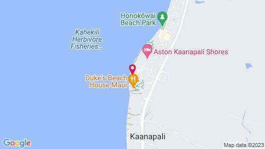 Mahana by KBM Hawaii Luxury Vacations Map