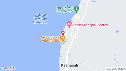 Aston Mahana at Kaanapali Map