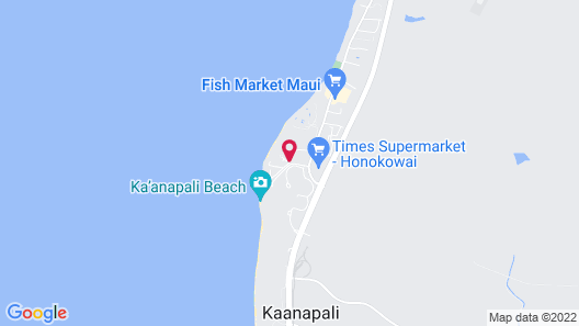 Kaanapali Beach Club Resort by Diamond Resorts Map