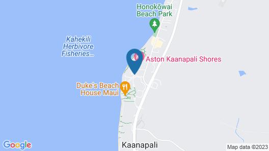 Kaanapali Beach Club Resort by Diamond Resorts Map