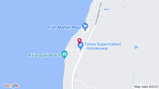Aston Kaanapali Shores Map
