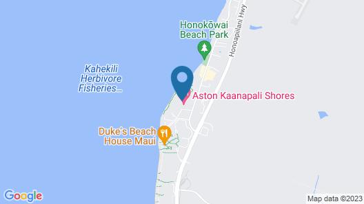 AEI at Kaanapali Shores Map