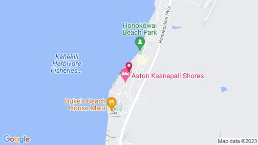 AEI at Papakea Resort Maui Map
