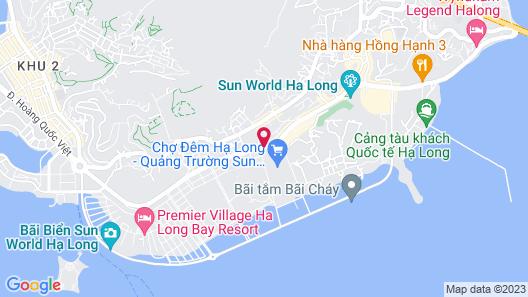 Novotel Ha Long Bay Map