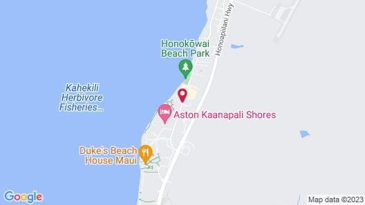 Aston at Papakea Resort Map