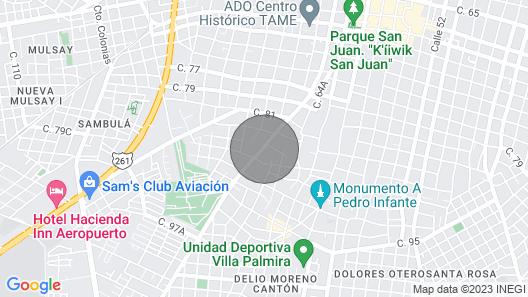 Casa Cheech - Beautiful House in Centro Map