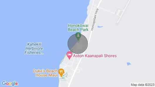 Paki Maui 213 Wonderful Condo Next to Park, Beach and Farmers Market Map