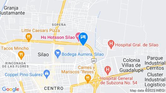 Holiday Inn Express Silao Aeropuerto Bajio Map