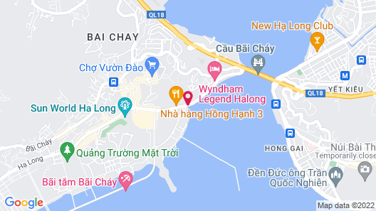 Mon Chéri Cruises Map
