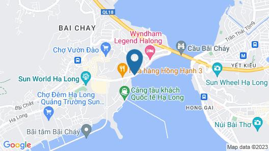 Signature Halong Cruise Map
