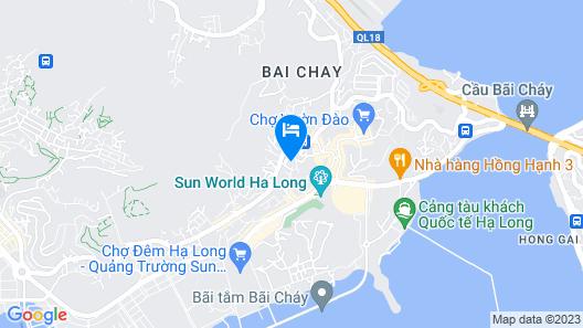 Starcity Halong Bay Hotel Map